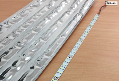 LED Strips, Cool White 24 Volts 72 LEDs Qty x 5 strips 24V LED Lights