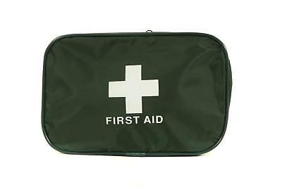 Empty Green First Aid Zip Top Pouch Bag - Large (16.5cm x 23cm x 7cm)