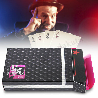 Waterproof Plastic Exquisite Recreation 54 PVC Playing Cards Game Poker Set Gift