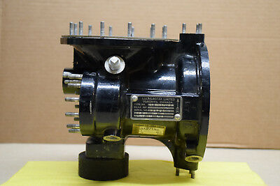 Lucas - Rotax Variable Stroke Fuel Pump Housing And Parts - As Is
