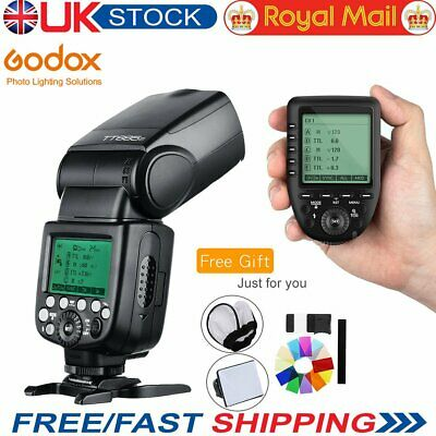 Godox TT685F GN60 2.4G TTL HSS Flash Speedlite+Xpro-F Wireless Transmitter +Gift