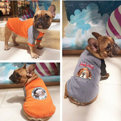 New Dog Puppy Cat Warm Clothes Coat Apparel Jumper Sweater Shirt Costume Hoodie