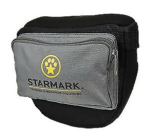 StarMark Pro Training Neoprene Dog Treat Toy Pouch Adjustable Strap