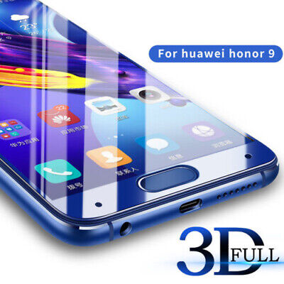 3D Full Tempered Glass Screen Protector For Huawei P9/10 10 Lite/Plus Honor 8/9