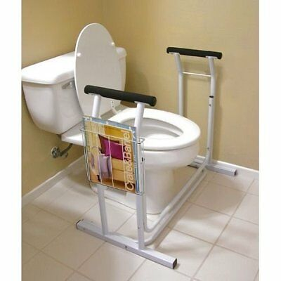Deluxe Toilet Safety Rack Support Frame