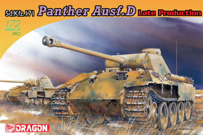 Dragon 1/72 Sd.Kfz.171 Panther D Late Production DR 7506