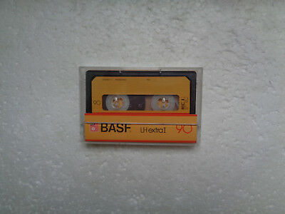 Vintage Audio Cassette BASF LH Extra 90 From 1981 - Fantastic Condition !!