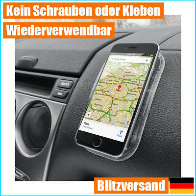 Anti Rutsch Matte Halterung Auto f. Apple iPhone Samsung Galaxy Smartphone Handy