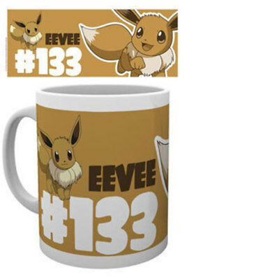 Pokemon Tasse 133 Evoli, 0,3 Liter (NEU)