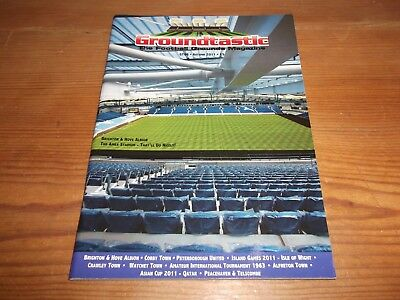 Groundtastic The Football Grounds Magazine GT66 Autumn 2011 Crawley Corby Town