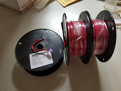 ALLIED Wire 100ft RED Primary Wire, 12AWG, 19X25 STRANDED COPPER