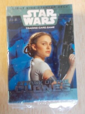 Star Wars - Attack of The Clones - Light Side Starter Deck - Trading Card Game
