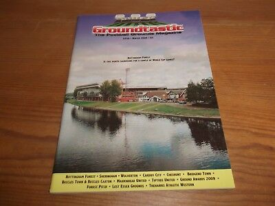 Groundtastic The Football Grounds Magazine GT59 Winter 2009 Ft Wolverton Cardiff