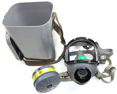 FINLAND ARMY M71 RESPIRATOR / GAS MASK & FILTER in SEALED BOX