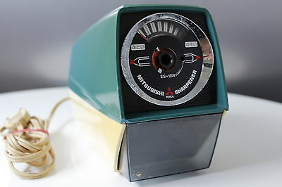Mitsubishi - Electric Pencil Sharpener - Bleistiftspitzer - 220V - Vintage - Ori