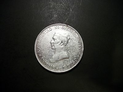 Uruguay 1917 1 Peso Silver large foreign coin
