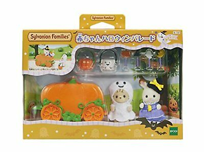 Epoch Calico Critters baby Halloween parade Se-192 F/S w/Tracking# Japan New