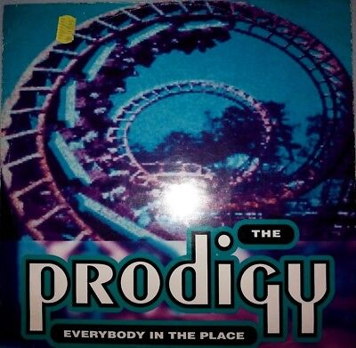 "The Prodigy - Everybody In The Place (12"", Single) Vinyl Break Beat"
