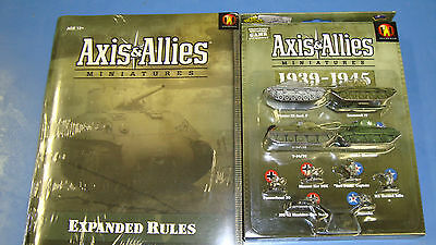 New Sealed Starter Axis and Allies 1939-1945 AAM Miniatures & New Expanded Rules