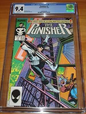 PUNISHER #1 - CGC 9.4 NM (1987 Unlimited Series ; Issue #1 ; White Pages)