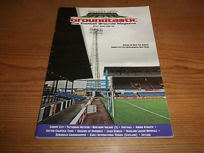 Groundtastic The Football Grounds Magazine GT56 Spring 2009 Ft Cardiff Sutton