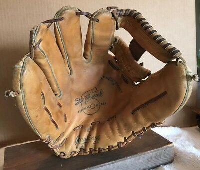 Stan Musial Rawlings Sm6 Personal Model  Made In The Usa Vintage Baseball Glove