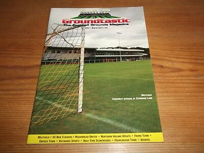 Groundtastic The Football Grounds Magazine GT67 Winter 2011 Ft Frome Westfield
