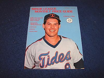 Minor League Monthly Price Guide First Issue Vol. 1 No. 1 November 1988 (D517-6)