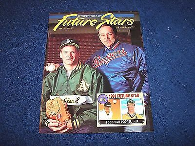 Beckett Focus On Future Stars First Issue #1 May 1991 Nolan Ryan Cover (D517-6)