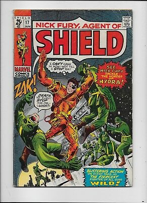 Marvel Comics   Nick Fury Agent Of Shield #17     Very Good