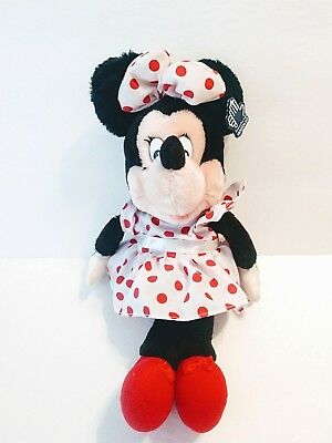 Vintage Minnie Mouse Plush Doll Disney Stuffed Animal By Applause