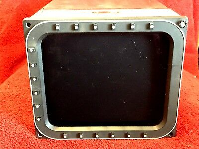 Rockwell/collins Mfd 871 Multifunction Display P/n 622-9434-037 With Tray/connec