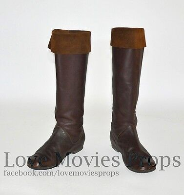 The Chronicles of Narnia King Peter Hero Camp Boots William Moseley Screen Worn