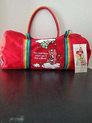 Care Bears 1983 Duffel bag with original tag nice condition!