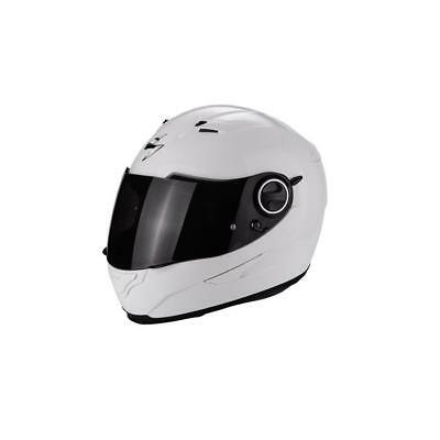 e2aa109c Scorpion exo490 Solid Integral Helmet 2018 - White Supermoto Street  Motorcycle