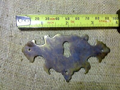 escutcheon, 9 cm, antique or vintage, (NMK2)