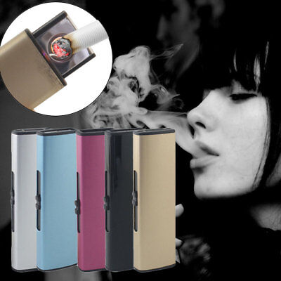 USB Charge Lighter USB Windproof Personality Electric Cigarette Lighter LOT BB