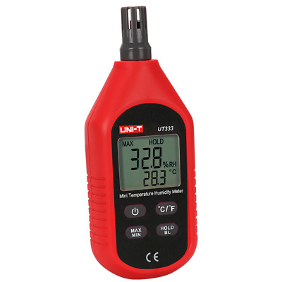 UNI-T UT333 Mini LCD Digital Thermometer Hygrometer Air Temperature and Humidity