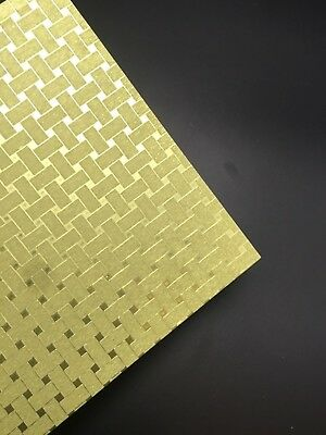 5 X A4 Glitter Cardstock Craft Paper Gold Web Scrapbooking Card Making Craft