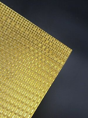 5 X A4 Glitter Cardstock Craft Paper Gold Dots Scrapbooking Card Making Craft