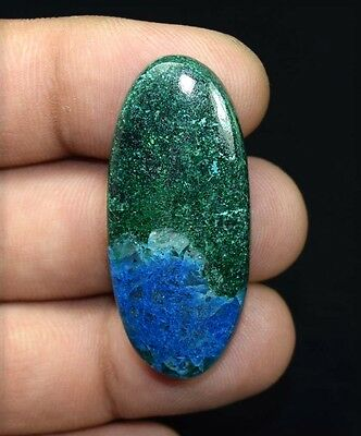 61.55 Cts. 100 % Natural  Chrysocolla Oval Cabochon Untreated Loose Gemstones