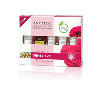 1000 Roses Get Started Kit 5 Pc by Andalou Naturals