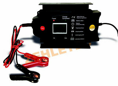 Charger Charger Battery Monitor ladewächter 24V 1-12A 1+12A