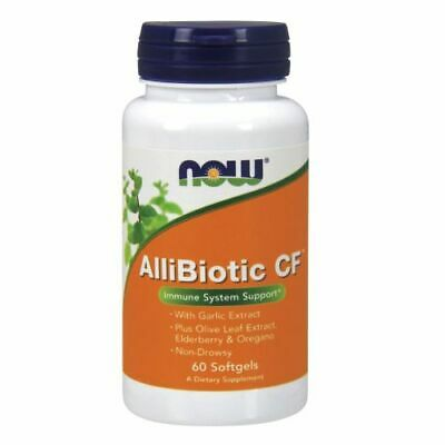 Allibiotic 60 Sgels by Now Foods