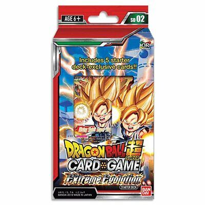Dragon Ball Super Card Game Starter 02 The Extreme Evolution Starter Deck