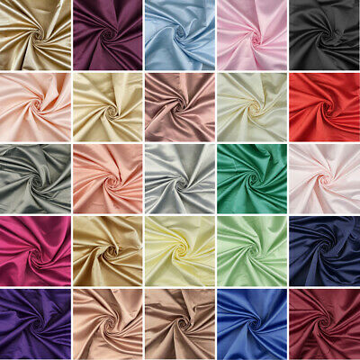 Superior Dull Duchess Bridal Satin Fabric Bridal Dress Prom Material Crepe Back