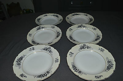 6 PLATES HOLLOW LIMOGES/RAYNAUD & Cie/ TRESSEMANES AND VOGT 1919 /1928 N°2