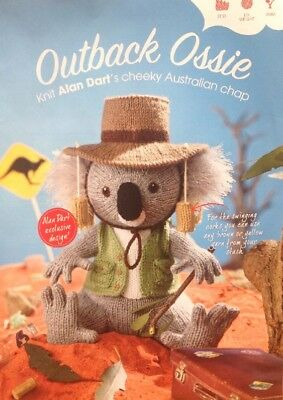 Alan Dart Knitting Pattern for Outback Ossie