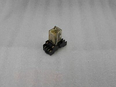 Omron Cube Relay MY4N, With Various Bases, 100-110V, Used, Warranty