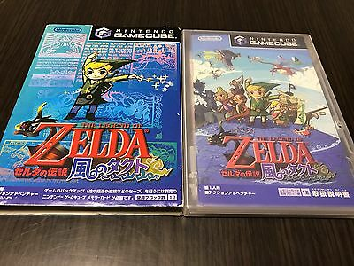 Legend of Zelda: The Wind Waker Japan Gamecube Nintendo GC with Box,manual 102